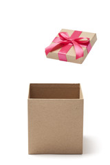 Open Empty Gift Box