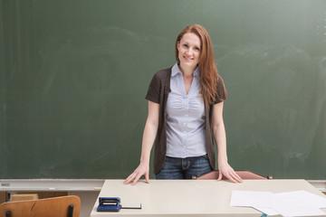 female teacher