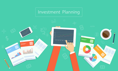 Vector business  investment planning on device technology