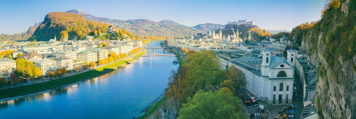 Salzburg Stadt Panorama