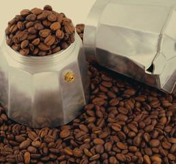 espresso coffee bean set coffee-maker