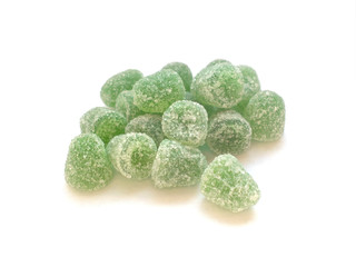 Jellied mint candies