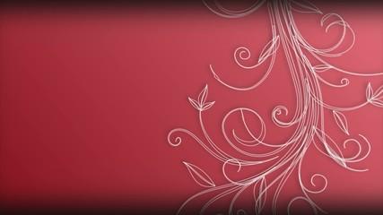 Sfondo rosso con evoluzione grafica Evyon