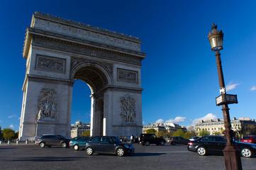 Arch of Triumph in Paris