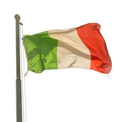 Waving Italian flag