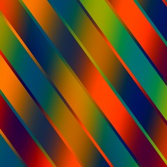 Abstract Colorful Shiny Strips Background - Red