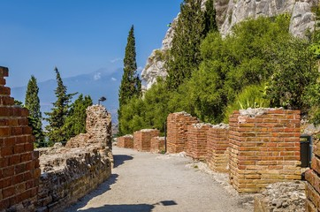 Greek theater,Etna,Taormina Sicily.