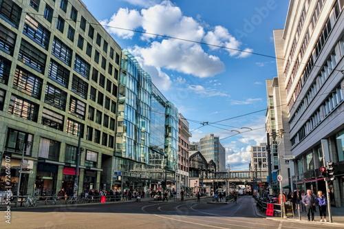 Fotobehang Berlijn Berlin-Friedrichstraße
