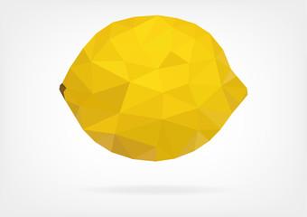 Low Poly Lemon