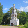 Belfry of Presentation of the Virgin Mary Church in Bezhetsk