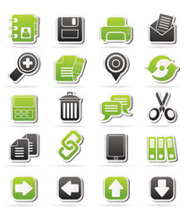 internet Interface Icons -  vector icon set