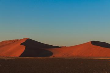 Mighty red sanddune sunset Sossusvlei