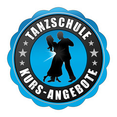 tsk3 TanzSchuleKurs - fnb - Tanzschule Kursangebote - blau g2427