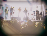 Fototapety music concert
