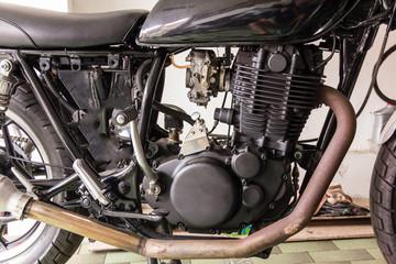 vintage Motorcycle machine