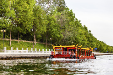 Boat Trip Canal from Summer Palace Beijing, China