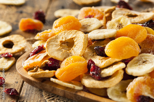 Fotobehang Vruchten Organic Healthy Assorted Dried Fruit