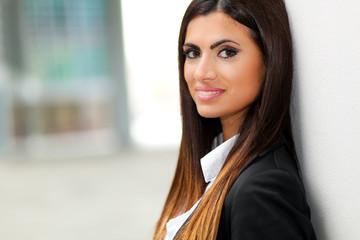 Portrait of a confident businesswoman outdoor