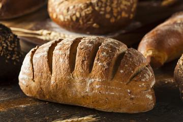 Freshly Baked Rye Bread