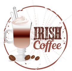 Irish Coffee Stamp