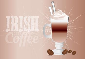 Irish Coffee Background