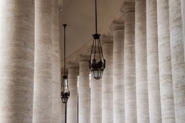 Columns at Saint Peter's Square