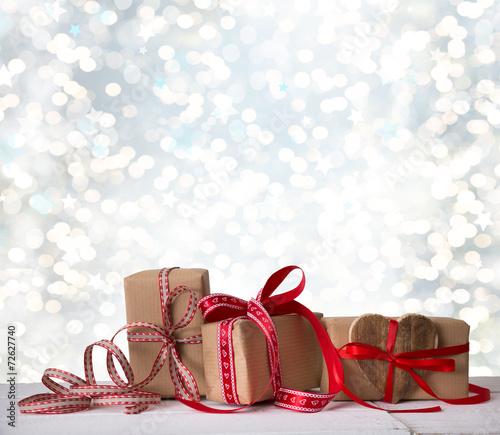 canvas print picture Weihnachten Gutschein Geschenke