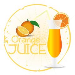 Orange Juice Stamp