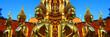 Bouddha doré au Temple de Doï Sutep en Thaïlande - 72629144