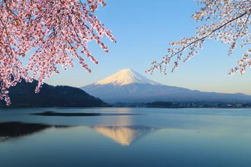 Mount Fuji, view from Lake Kawaguchiko © geargodz