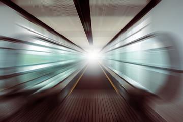 motion moving of escalator