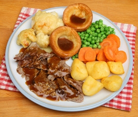 Traditional Sunday Roast Dinner
