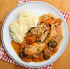 Slow-Cooked Chicken Casserole