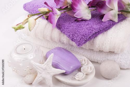 canvas print picture Bath accessories