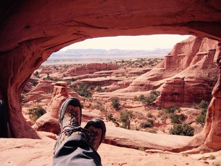 Relax under the Arch