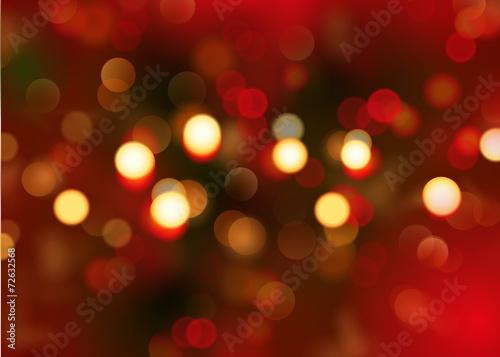 Fototapeta Bokeh - Weihnachten