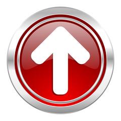up arrow icon, arrow sign