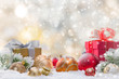 Abstract Christmas background - 72633754