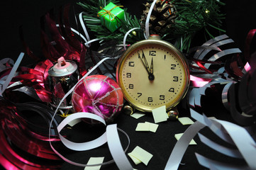 Happy New Years Eve Celebration Countdown Clock