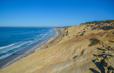 Pacific coast, San Diego, California