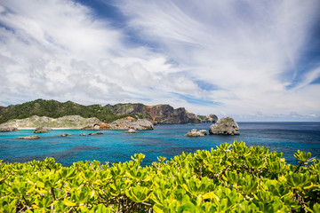 南島から見たハートロック