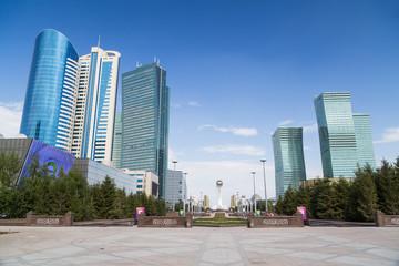 Skyscrapers in Astana, Kazakhstan