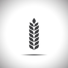 wheat vector icon