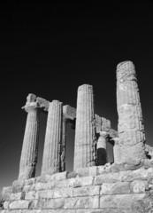 Italy, Sicily, Agrigento, Greek Juno Temple (480-420 b.C.)