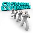 Customer Experience Workforce Clients Pulling Words Satisfaction