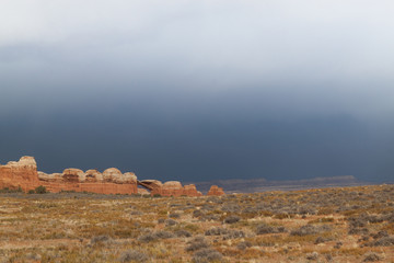 UT-Arches National Park-severe thunderstorm and torrential rains