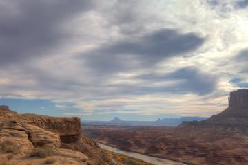 UT_Canyonlands National Pk-White Rim Road-Green River View