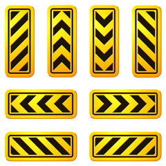 Danger and Caution Street Signs 07