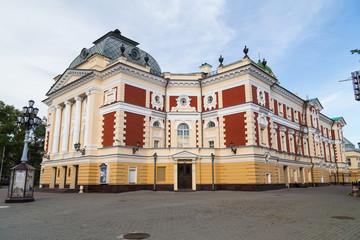 Historical building in Irkutsk, Russia