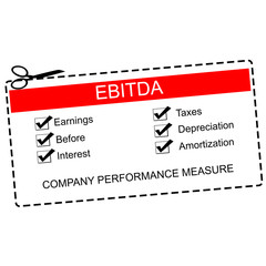 EBITDA Red Coupon Concept